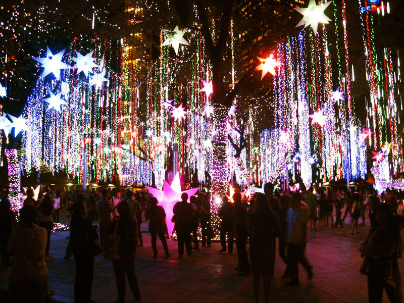 Photo Blog: Sparkly Ayala Triangle Gardens