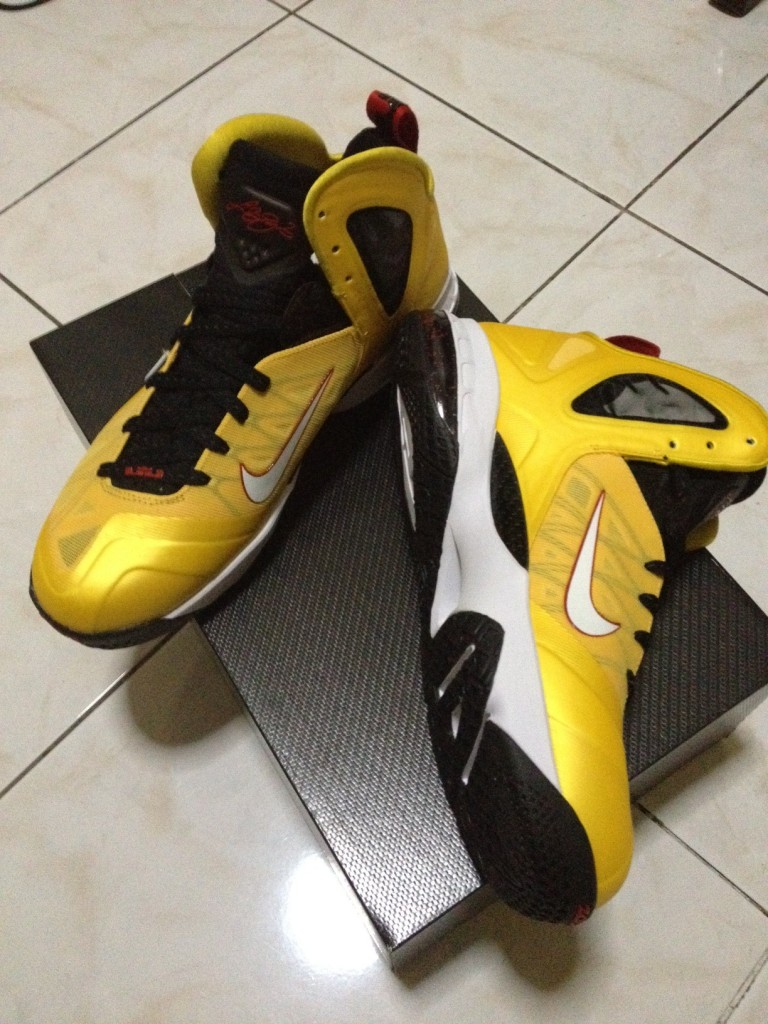 LeBron 9 Elite Series Varsity Maize 2