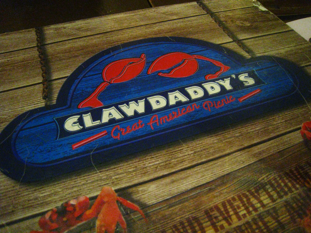 Surfin' and Turfin' at Claw Daddy's