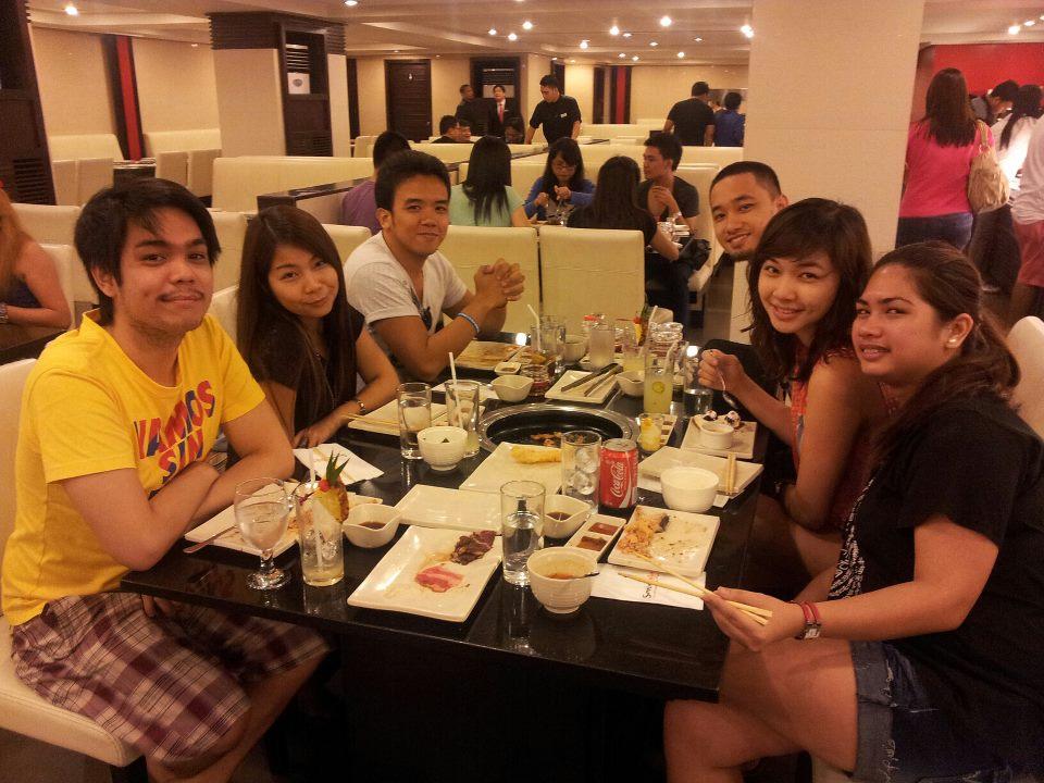 The SamboKojin people! (L-R) Niko, Me, King, Chris, Kwin and Ayra.