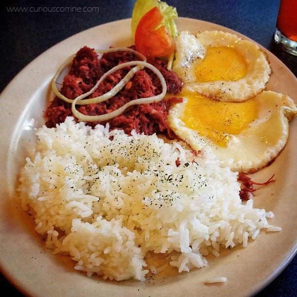 Corned beef + Rice