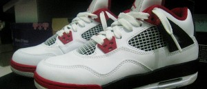 Kickin&#8217; It: Air Jordan IV &#8216;Fire Red&#8217; White/Varsity Red