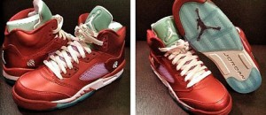 Kickin&#8217; It: Air Jordan 5 GS &#8216;Valentine&#8217;s Day&#8217;