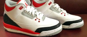 Kickin' It: Air Jordan III Fire Red